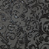 Мозаика Fap Ceramiche Dark Side Damasco Black Gloss Mosaico Mix 4 60x60 см (состоит из 4 шт 30х30 см)